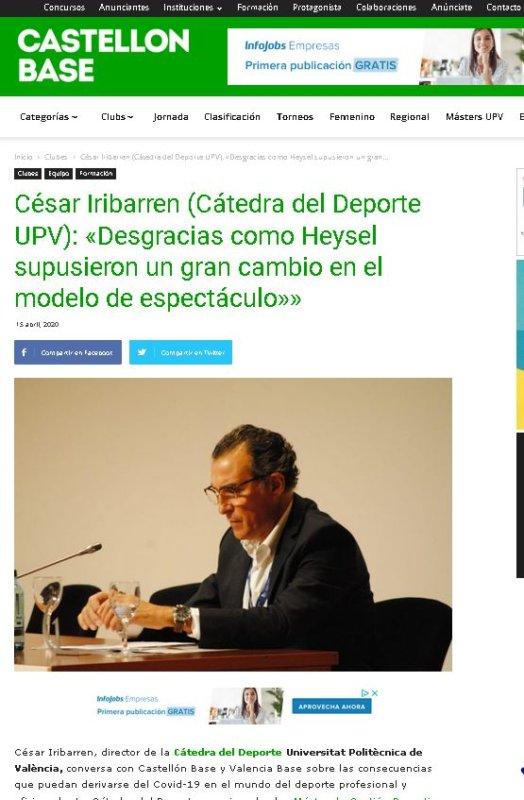 Director Máster de Gestión Deportiva