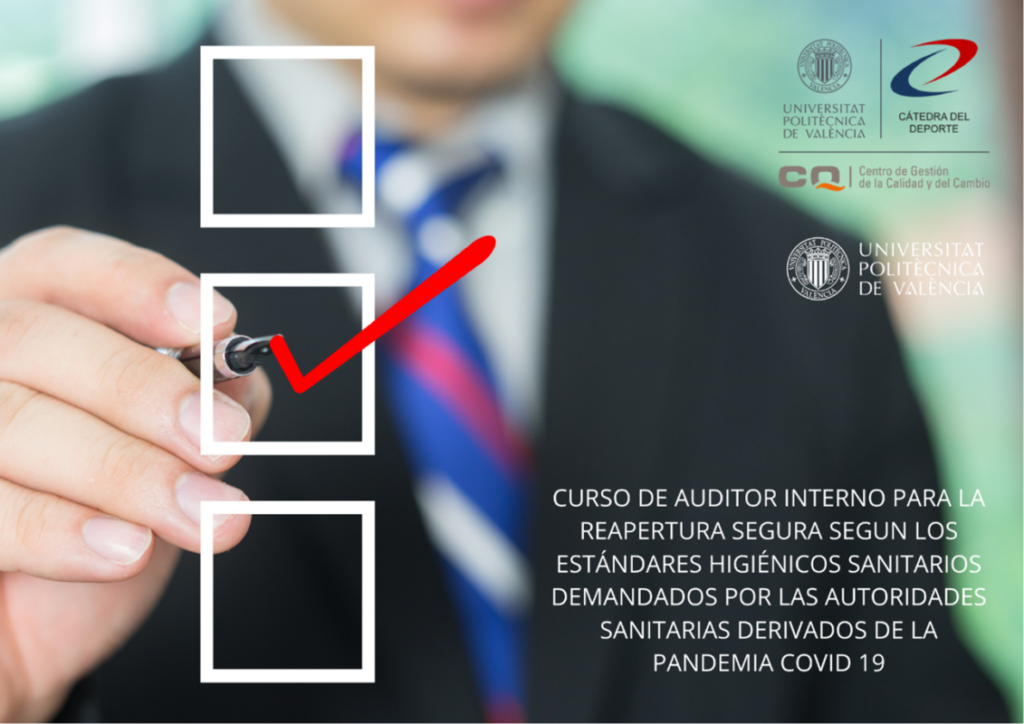 Auditor COVID-19 Cátedra Deporte UPV