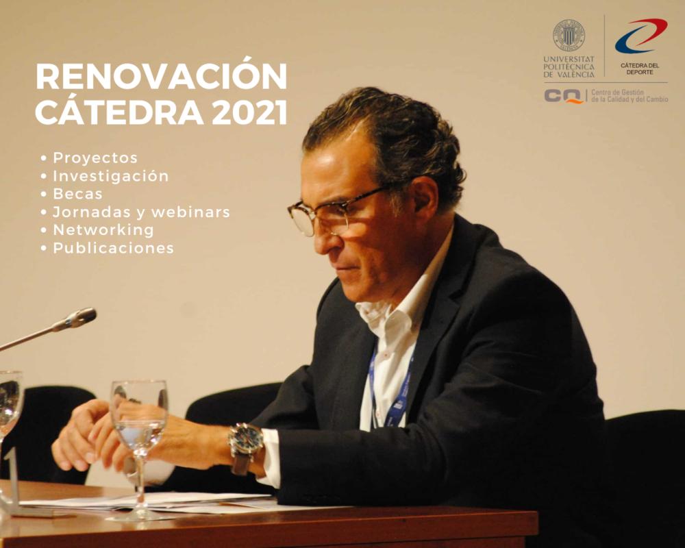Renovación cátedra 2021