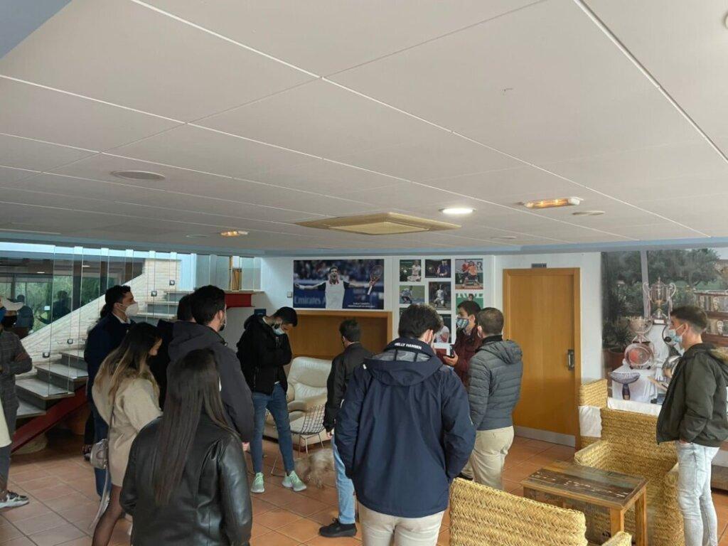 Visita Juan Carlos Ferrero - Equelite