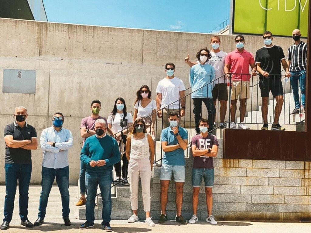 Inicio de las visitas en Castellón XVI Edición MGDUPV