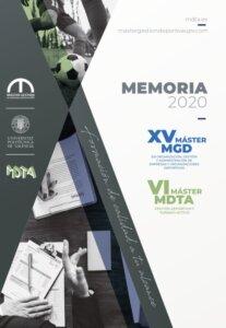 Memoria XV MGD y VI MDTA 2020